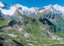 Grossglocknerská vysokohorská silnice v Rakousku