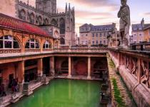 Hlavní atrakce anglického Bathu
