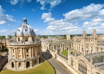Oxford – britské univerzitní město