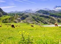Asturie a Kantábrie se Španělsku