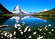Matterhorn u Zermattu, Švýcarsko
