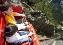 Nejstrmější lanovku Evropy naleznete ve Švýcarsku