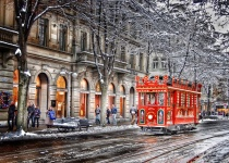 Vánoce v Curychu