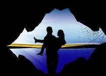 Koupání v jeskyni Miskolc-Tapolca