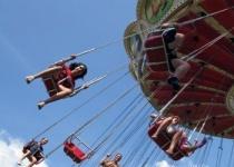 Lunapark /zábavný park/ v Budapešti