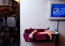 Cestování letadlem s malými dětmi
