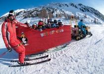 Destinace vhodné pro lyžařskou dovolenou s dětmi
