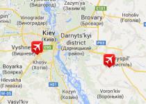 Letiště Kyjev – Zhulhany (IEV)