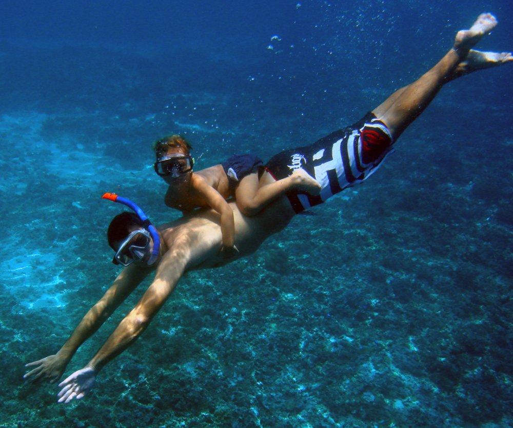 Tropické destinace, kde se můžete naučit potápět 1