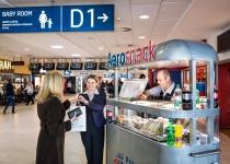 Nová služba na letišti v Praze - Aerosnack
