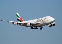 S Emirates z londýnského Gatwicku do Dubaje