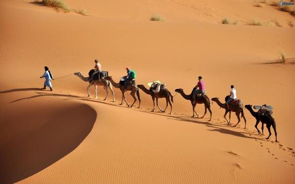 Romantická Sahara 1